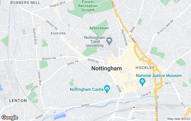 Map for Katie Homes, Nottingham