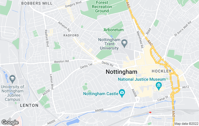 Map for Uni2 Rent Ltd, Nottingham