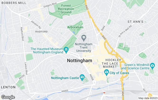 Map for Littlewood & Company, Nottingham