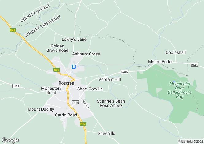 Map for Benamore Business Park, Benamore, Roscrea, Tipperary