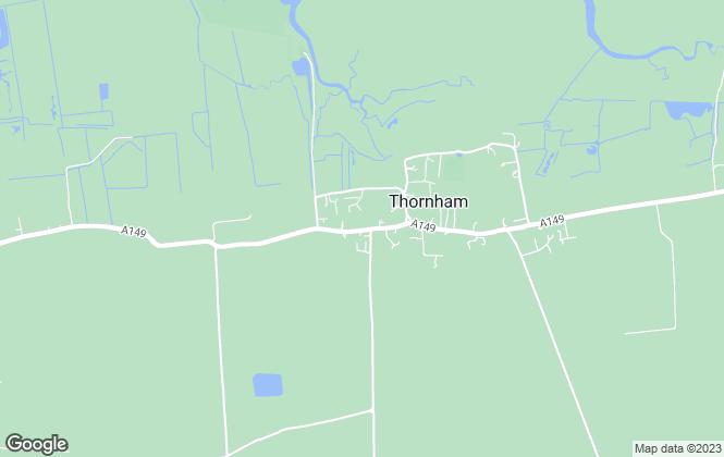 Map for Barefoot Estates, Thornham
