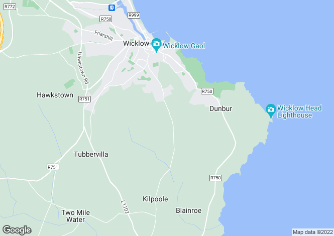 Map for 22 Mariners Drive, Mariners Point, Wicklow, Wicklow