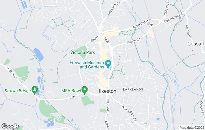 Map for Charles Newton & Co, Ilkeston