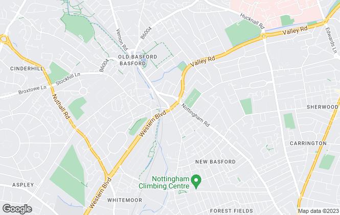 Map for Nationwide Make Moves Ltd, Derby