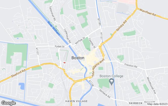 Map for Plotway, Boston