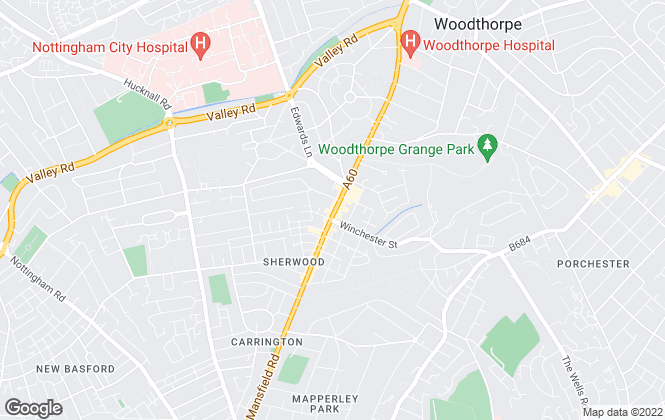 Map for HAMMOND Property Services, Sherwood - Lettings