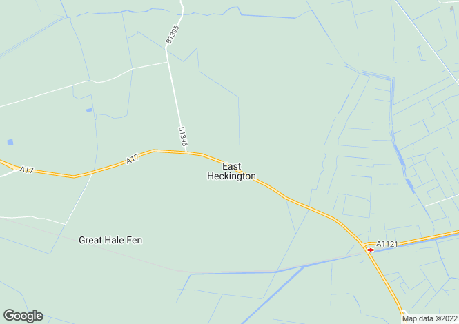 Map for East Heckington