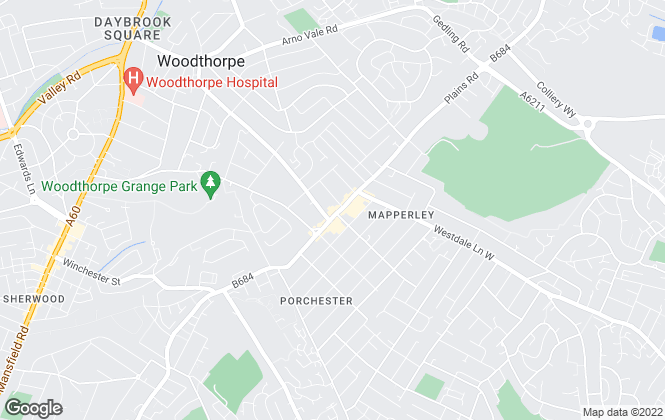 Map for Nottingham Property Services, Mapperley