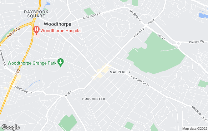 Map for Marriotts, Mapperley