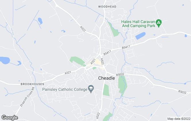 Map for Donald Cope Estate Agents, Cheadle