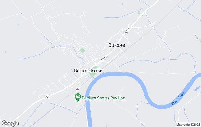 Map for Lesley Greaves Estate Agents, Burton Joyce
