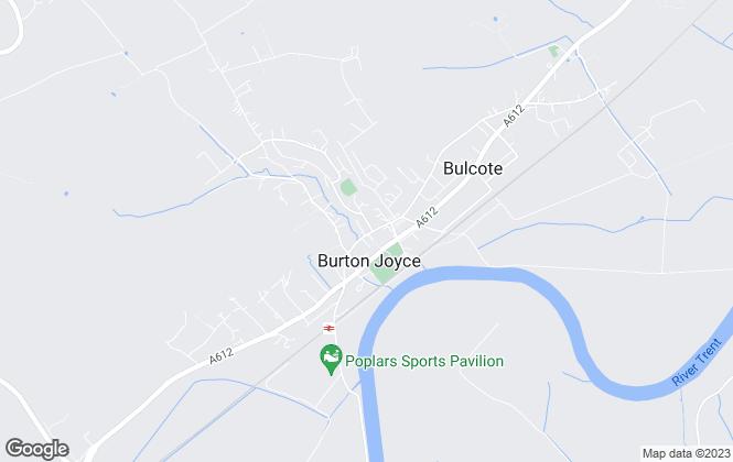 Map for Petersen Property Consultants, Burton Joyce