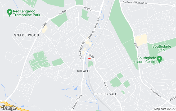 Map for Belvoir, Nottingham West