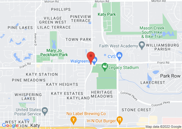 Map of 5249 Franz Rd, Katy, TX 77493, United States