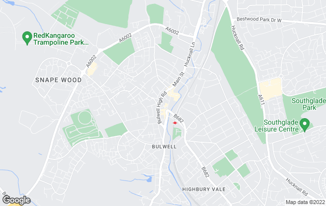 Map for Your Move , Bulwell