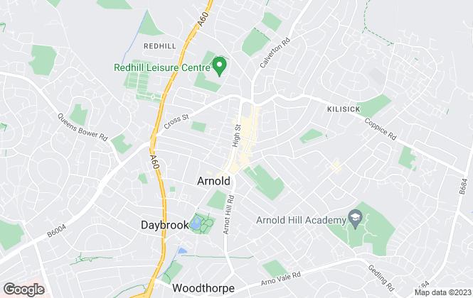 Map for HoldenCopley , Nottingham