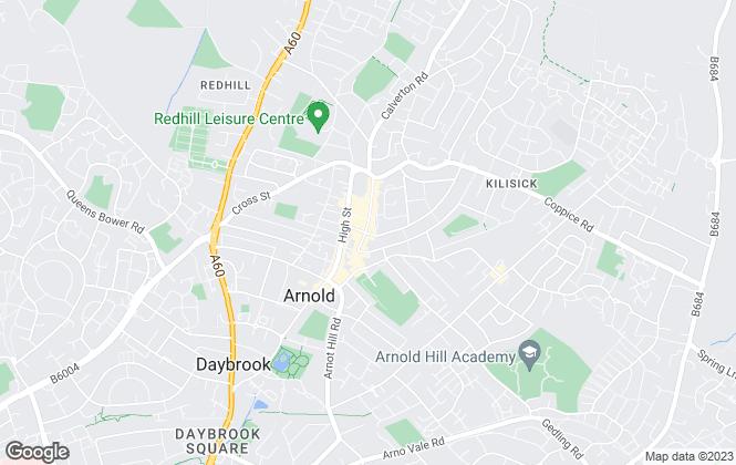 Map for Frank Innes, Arnold