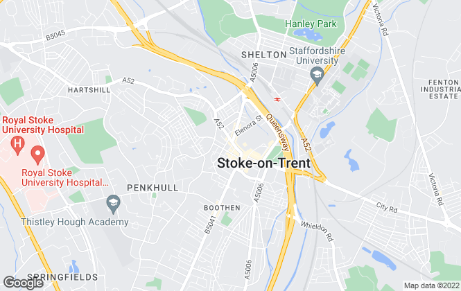 Map for Wards Property Management, Stoke on Trent