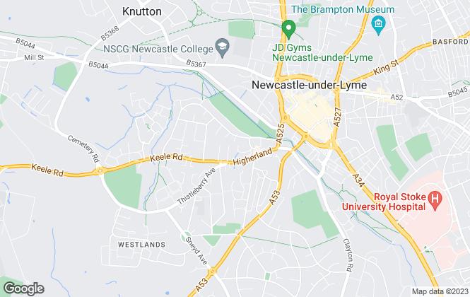 Map for Stephenson Browne Ltd, Newcastle Under Lyme - Sales
