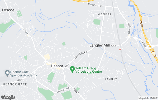 Map for Henrys Simms, Heanor