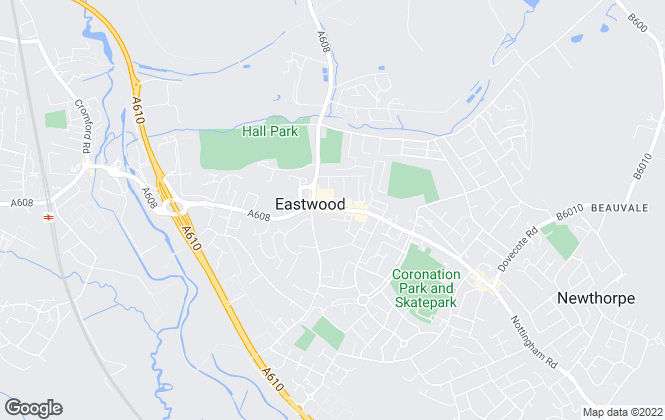 Map for MCM Estates & Lettings, Eastwood