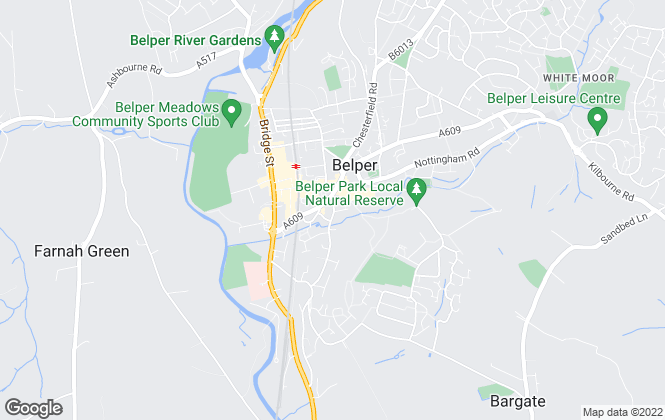 Map for Boxall Brown & Jones, Belper