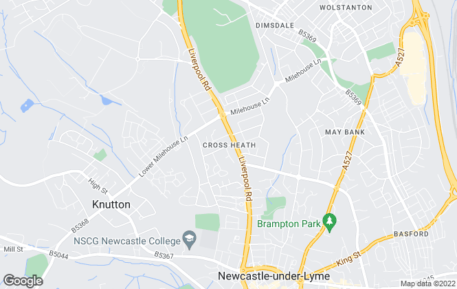 Map for Louis Taylor, Stoke on Trent