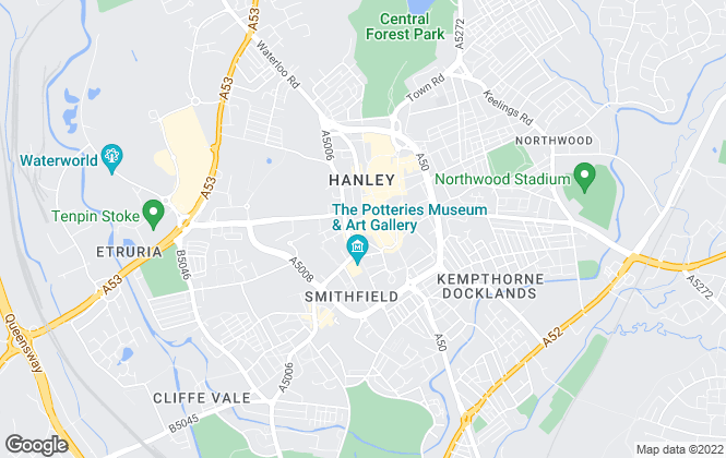 Map for Goodchilds, Stoke-On-Trent