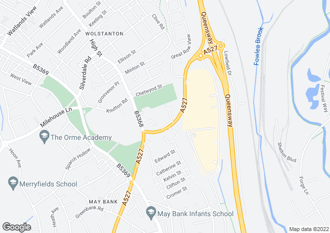 Map for The queensbury at Wulfstan Grange, Grange Lane,