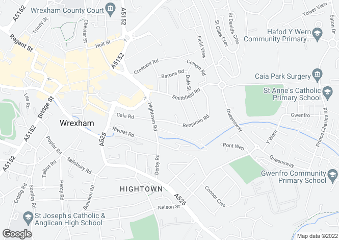 Map for Benjamin Road,