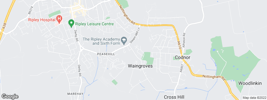 Map for Peveril Homes Limited