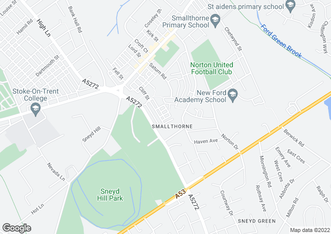 Map for Whatmore Street,