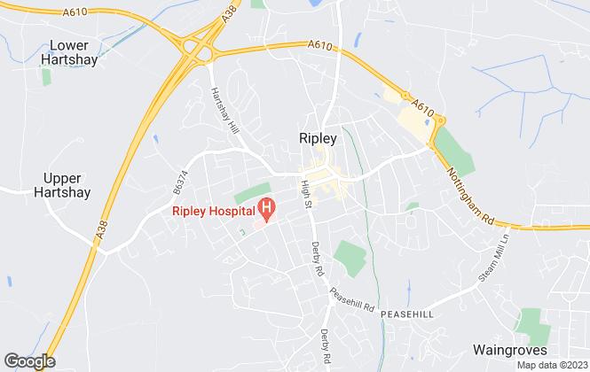 Map for Smartmove, Ripley