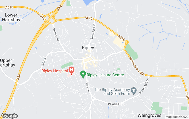 Map for Your Property Ladder, Ripley - Sales