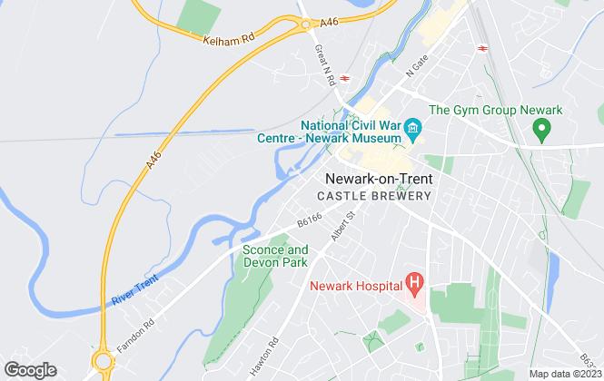 Map for Valerie Rose Residential Management, Newark