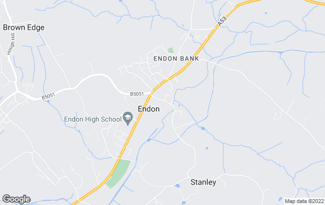 Map for Karen Baggaley Premier Estates Ltd, Endon