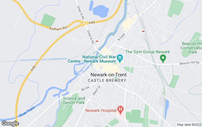 Map for Edlin & Jarvis Estate Agents Ltd, Newark