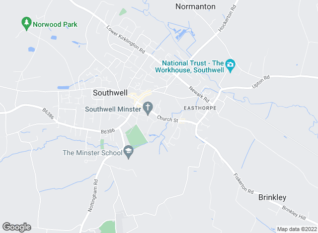 Map for Gascoines, Southwell - Rentals