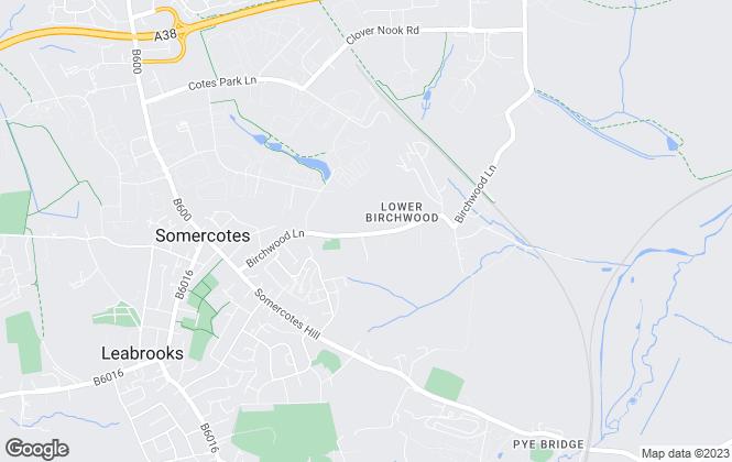 Map for Eyelet Property Services Ltd, Derby