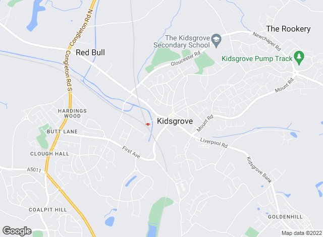 Map for Shaw's Residential Estate Agents, Kidsgrove