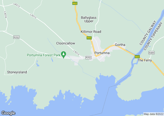 Map for Ivy Cottage, St Josephs Road, Portumna, Co Galway