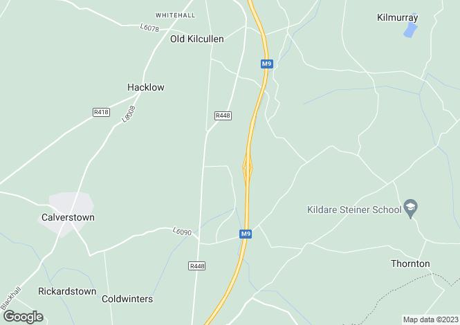 Map for Kilcullen, Kildare
