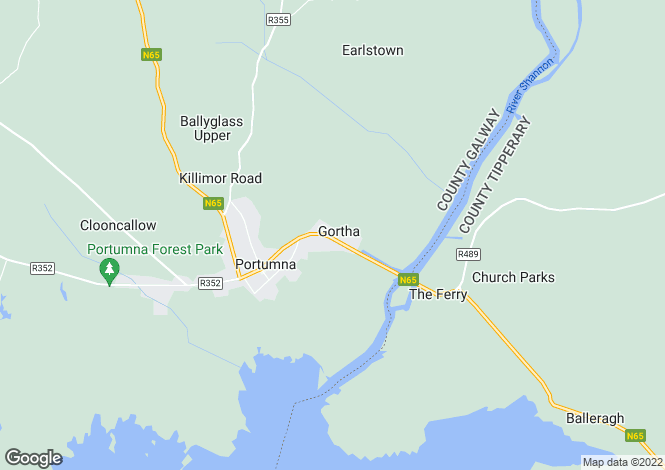 Map for Portumna, Galway