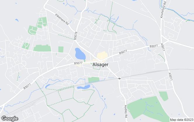 Map for Stephenson Browne Ltd, Alsager