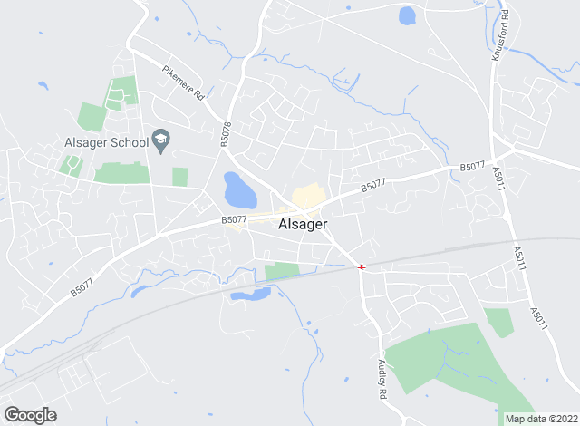 Map for Butters John Bee, Alsager