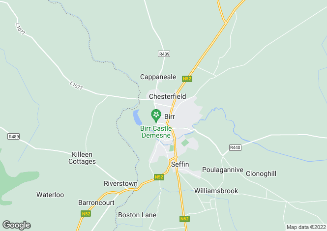 Map for 11 Oxmantown Mall, Birr, County Offaly, R42 VK85