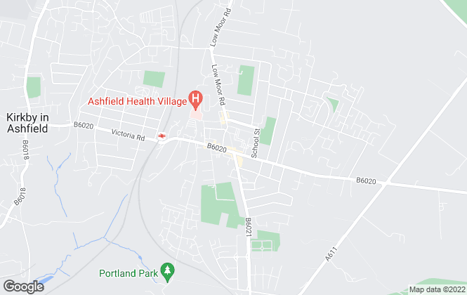 Map for Lighthouse Estate Agents, Kirkby In Ashfield