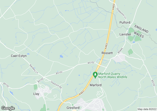 Map for Greenfields,