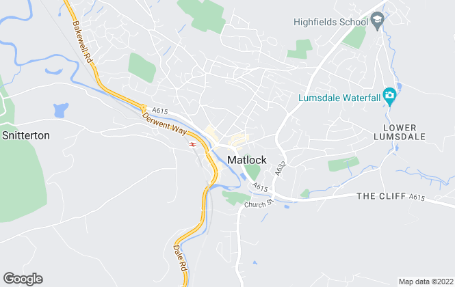Map for Saxton Mee, Matlock