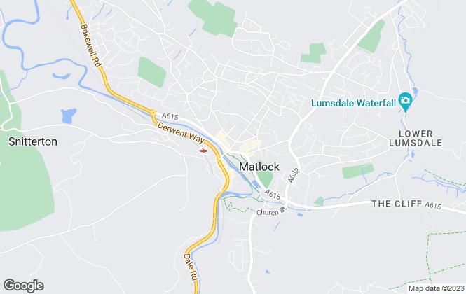 Map for Harrison Murray, Matlock